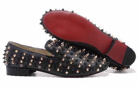 louboutin pour homme pas cher commander acheter chaussure. Black Bedroom Furniture Sets. Home Design Ideas